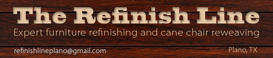 Furniture Refinishing And Cane Chair Reweaving In Plano, Texas